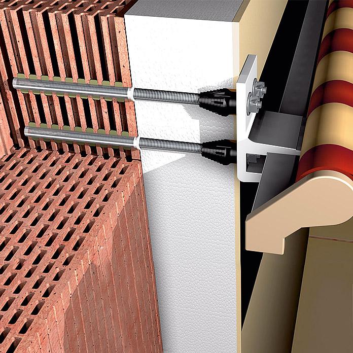store toile fixation ite isolation des facades